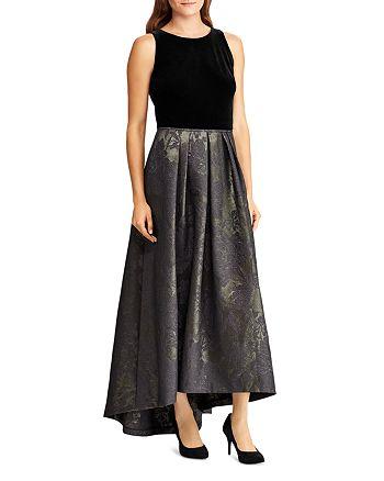 Ralph Lauren - Metallic Jacquard Ball Gown