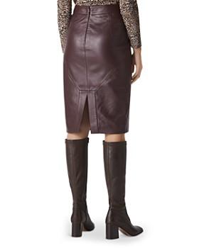Whistles - Kel Leather Skirt