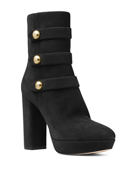 MICHAEL Michael Kors - Women's Masie Block Heel Platform Boots