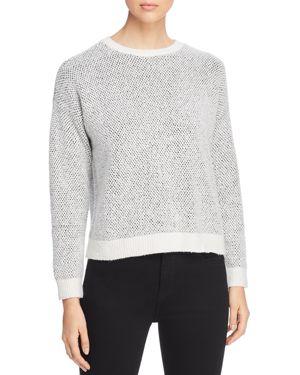 Eileen Fisher Bird's-Eye-Knit Sweater
