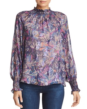 Rebecca Taylor - Giverny Floral Blouse