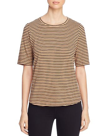 35fa8e08d Eileen Fisher Petites Striped Elbow Sleeve Tee   Bloomingdale's