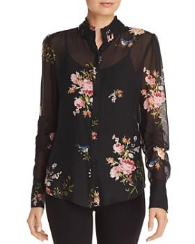 Joie - Elzie Silk Floral Blouse