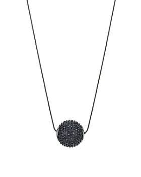 "AQUA - Disco Ball Pendant Necklace, 33"" - 100% Exclusive"