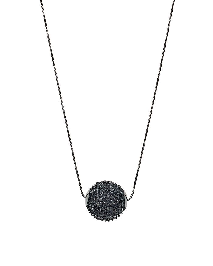 "AQUA - Disco Ball Pendant Necklace, 33"" - 100% Exclusive"