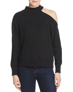 Elan One-Shoulder Sweatshirt