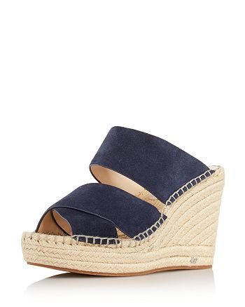 61f6efa9c9b Kenneth Cole Women's Olivia Espadrille Wedge Slide Sandals ...