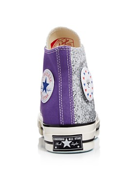 Converse - x Chiara Ferragni Women's Chuck Taylor Tillands Glitter High Top Sneakers