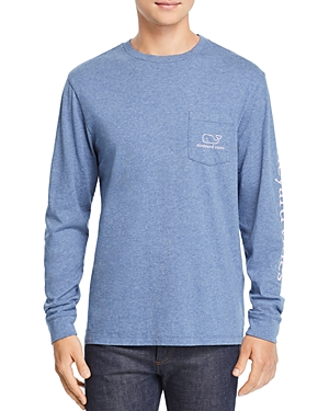 Vineyard Vines Vintage Whale Crewneck Long Sleeve Tee
