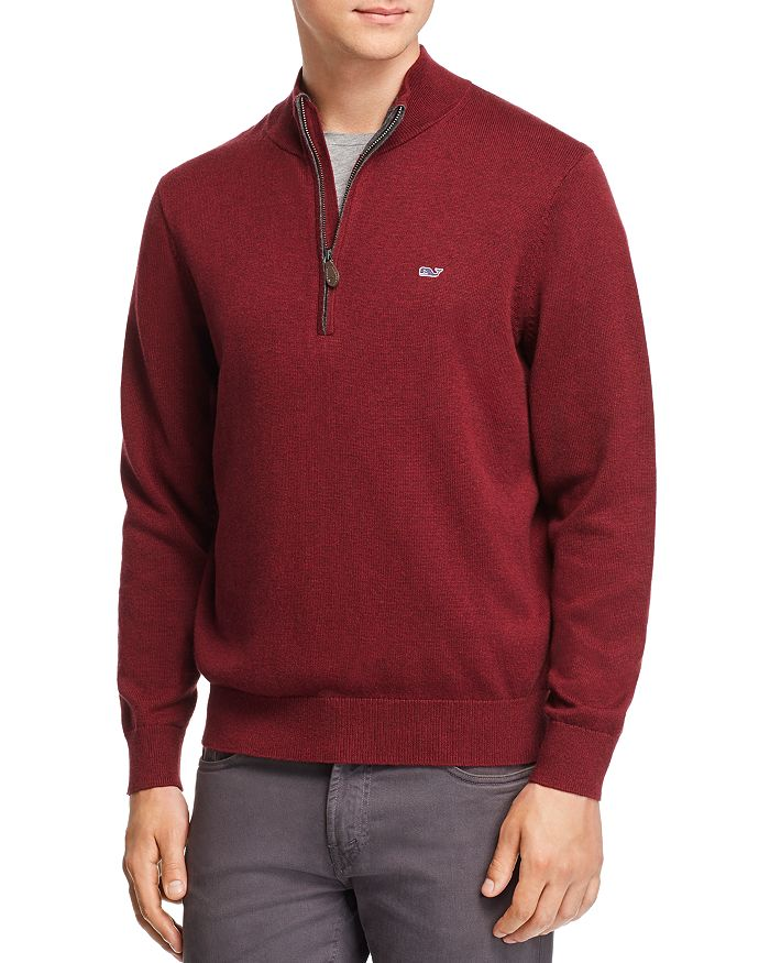 Vineyard Vines - Palm Beach Quarter-Zip Sweater