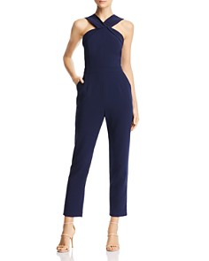Adelyn Rae - Grady Cross-Strap Jumpsuit