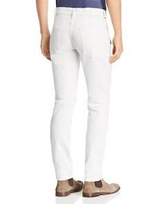 Hudson - Blinder Biker Slim Fit Jeans in Dirty White