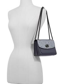 COACH - Parker 18 Glitter Convertible Shoulder Bag