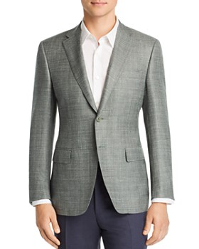 Canali - Siena Two-Tone Hopsack Classic Fit Sport Coat
