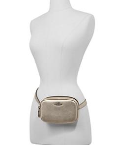 COACH - Metallic Leather Belt Bag