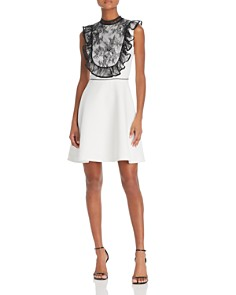 Nha Khanh - Lace-Bib Dress