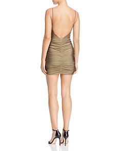 Tiger Mist - Zion Ruched-Drawstring Body-Con Dress
