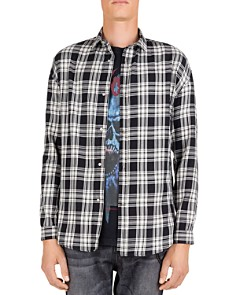 The Kooples - Asiatik Checked Regular Fit Button-Down Shirt