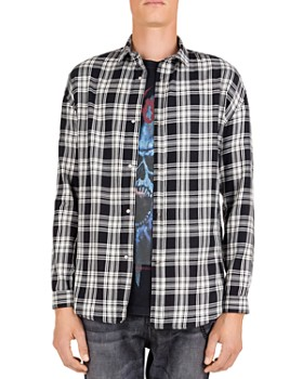 The Kooples - Asiatik Checked Regular Fit Button-Down Shirt