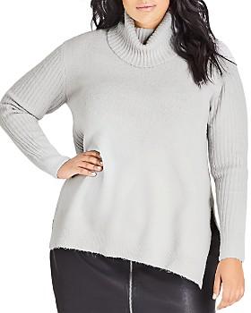 City Chic Plus - Turtleneck Sweater