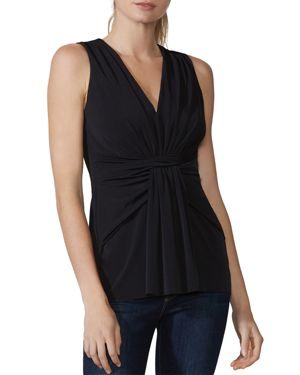 Bailey 44 Roulette Draped Twist-Front Top