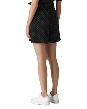 Whistles - Dot-Print Shorts