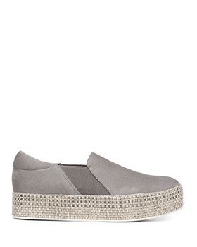 Vince - Women's Wilden Leather Espadrille Platform Sneakers