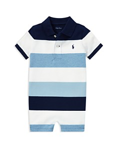 Ralph Lauren - Boys' Cotton Mesh Polo Shortall - Baby