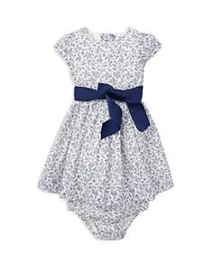 Ralph Lauren - Girls' Floral Dress, Sash & Bloomers Set - Baby