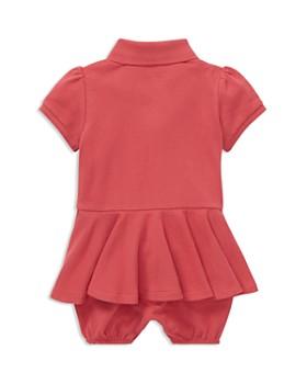 Ralph Lauren - Girls' Peplum Romper & Bloomers Set - Baby