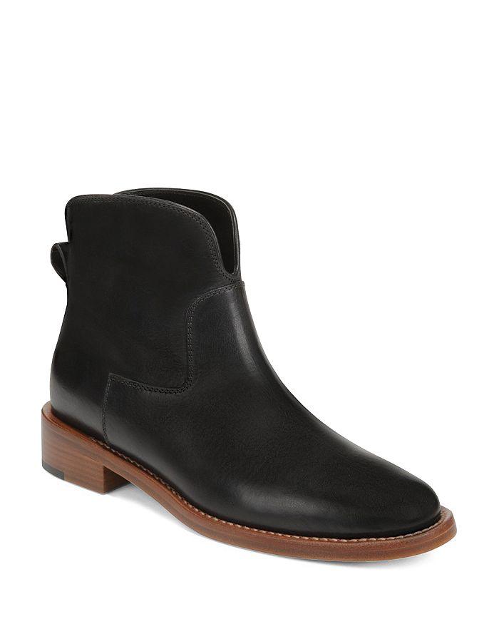 Via Spiga - Women's Baxter Almond Toe Ankle Boots