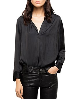 Zadig & Voltaire - Tink Satin Tunic Blouse