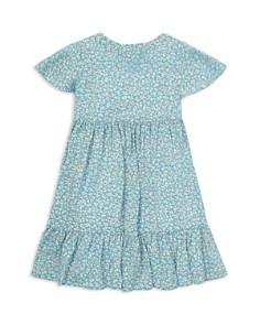 Ralph Lauren - Girls' Shirred Floral Dress - Little Kid