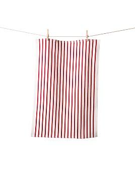 KAF Home - Striped Basket-Weave Towel, Set of 2