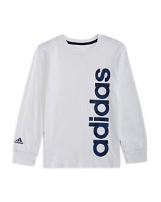 Adidas - Boys' Linear Logo Tee - Little Kid, Big Kid