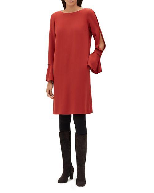 Lafayette 148 New York - Jorie Slit Flare-Sleeve Dress
