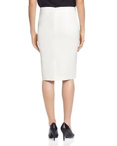 T Tahari - Ribbon-Trim Pencil Skirt
