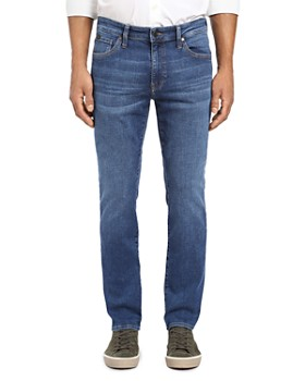 34 Heritage - Courage Straight Fit Jeans in Mid Indigo Cashmere