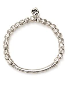 Uno de 50 - Journey Beaded Logo Charm Bracelet