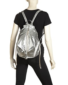 Rebecca Minkoff - Julian Metallic Nylon Backpack