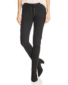 Joie - Adorea Ankle Zip Jeans in Caviar