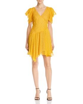 Bec & Bridge - Golden Hibiscus Mini Dress
