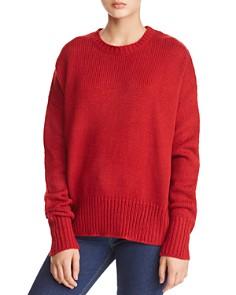 John and Jenn - Ezra Lace-Up Back Sweater