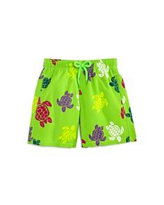 Vilebrequin - Boys' Turtles Swim Trunks - Little Kid, Big Kid