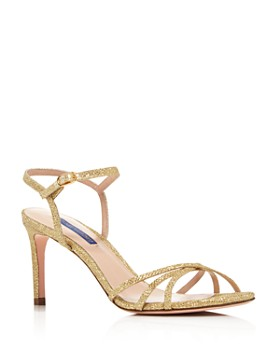 304f5d625 Stuart Weitzman - Women s Starla 80 Metallic High-Heel Sandals ...