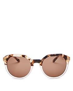 Tory Burch - Women's Round Sunglasses, 52mm