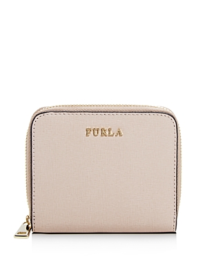 Furla Babylon Small Leather Zip Wallet