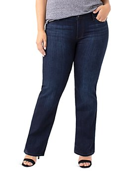 Liverpool Los Angeles Plus - Lucy Bootcut Jeans in Dunmore Dark