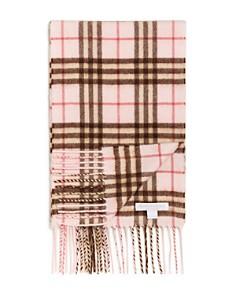 Burberry - Girls' Mini Classic Vintage Check Cashmere Scarf