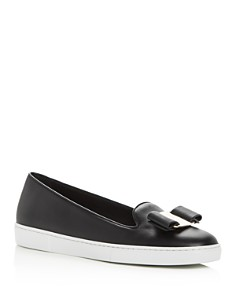 Salvatore Ferragamo - Women's Novello Slip-On Sneakers